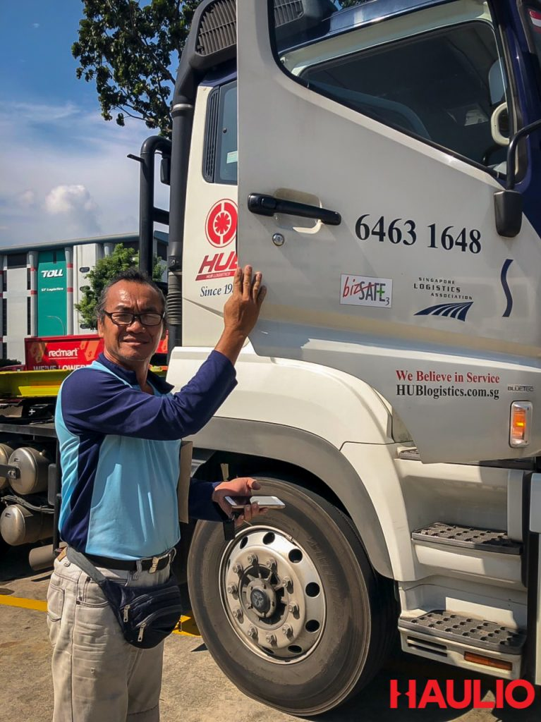 Uncle Foong and his prime mover