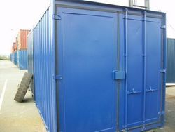 Shipping Container Type 3 Doors