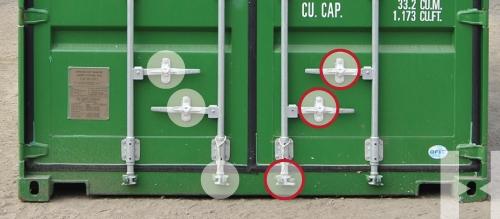 Container Door Seal Locations