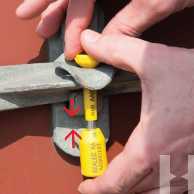 How to lock a Bolt Seal