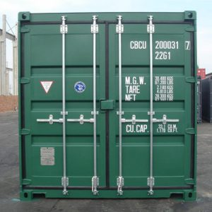 Shipping Container Type 2 Doors