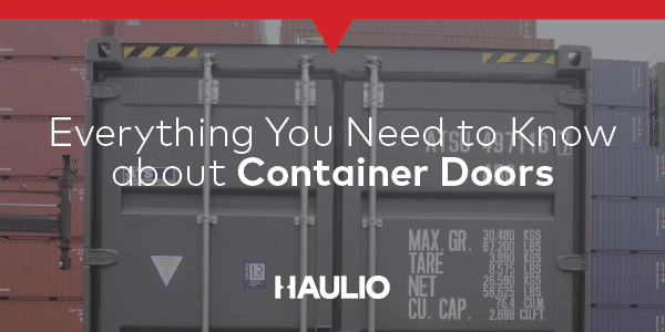 Everything you need to know about Container Doors