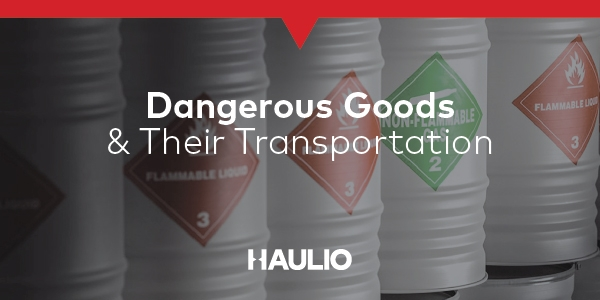 Dangerous Goods and their Transportation