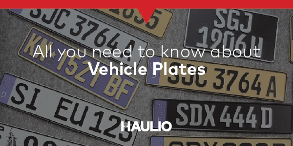 All you need to know about Vehicle Plates