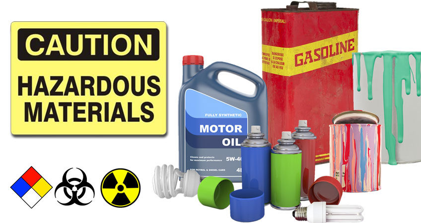 Types of Hazmat Items