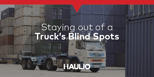 Staying out of a Truck's Blind Spots
