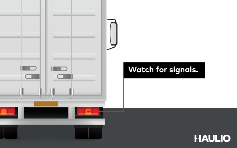 Watch for signals.