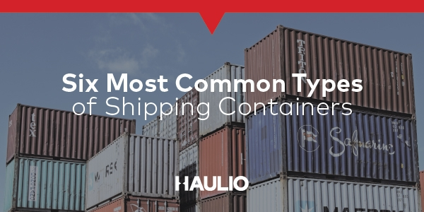 6 Most Common Types of Shipping Containers in Singapore