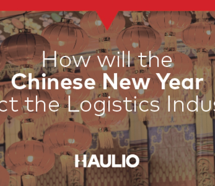 How will the Chinese New Year affect the logistics industry?