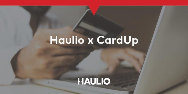 Haulio X CardUp