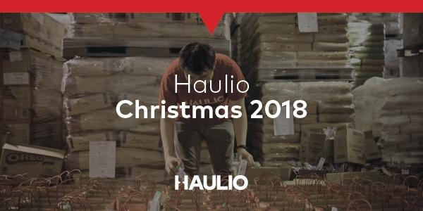 Haulio's Christmas Giveaway