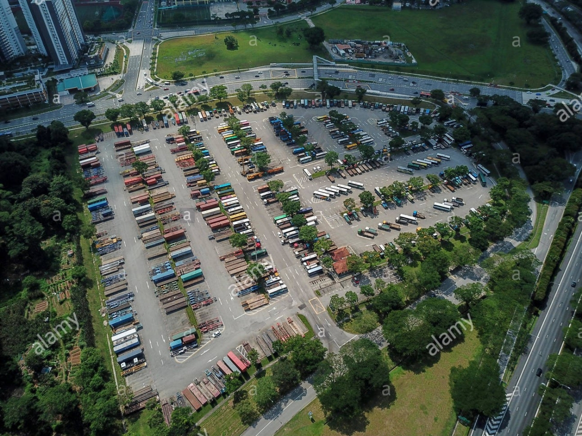 Heavy Vehicle Park in Singapore