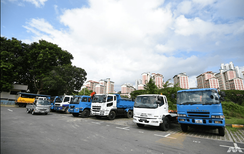 Heavy Vehicle Parking Singapore