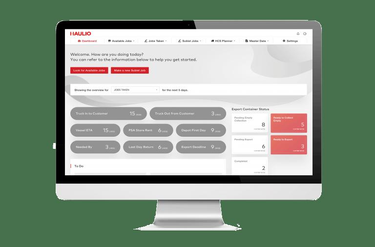 Haulage Operations Platform - Dashboard