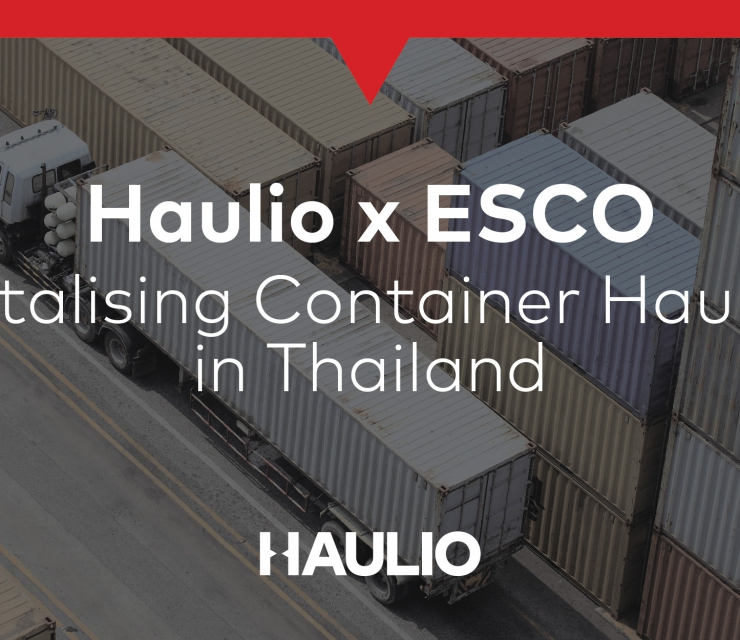 Digitalising Container Haulage Movements in Thailand with ESCO