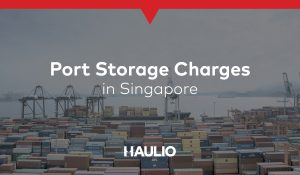 Port Storage Charges in Singapore