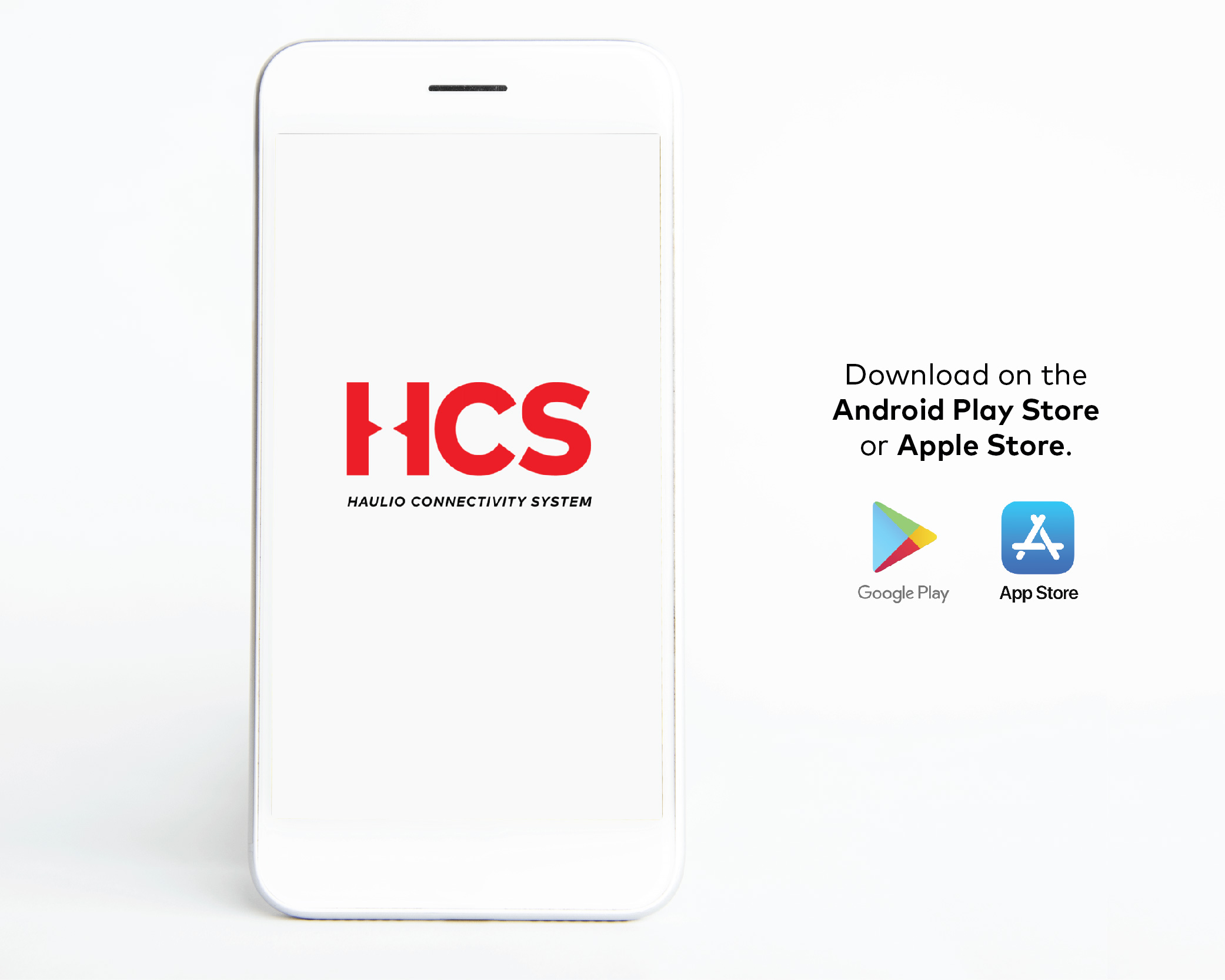 Download HCS on the Android Play Store and Apple Store