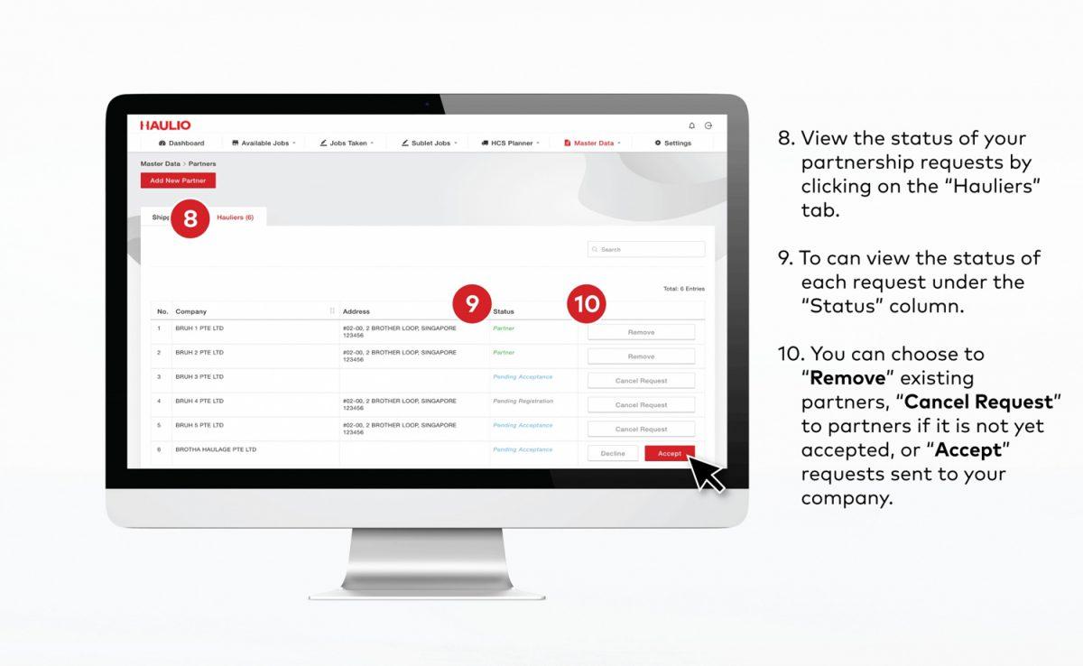 HOP - View Partnership Status