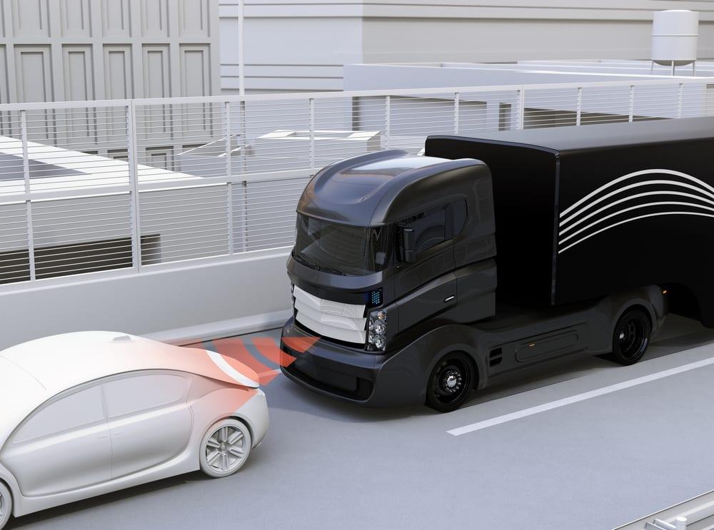 Autonomous Self Driving Truck