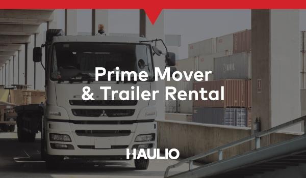 Prime Mover & Trailer Rental